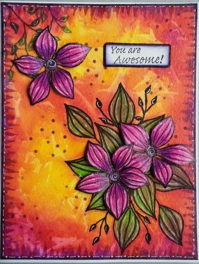 Magenta Card 1